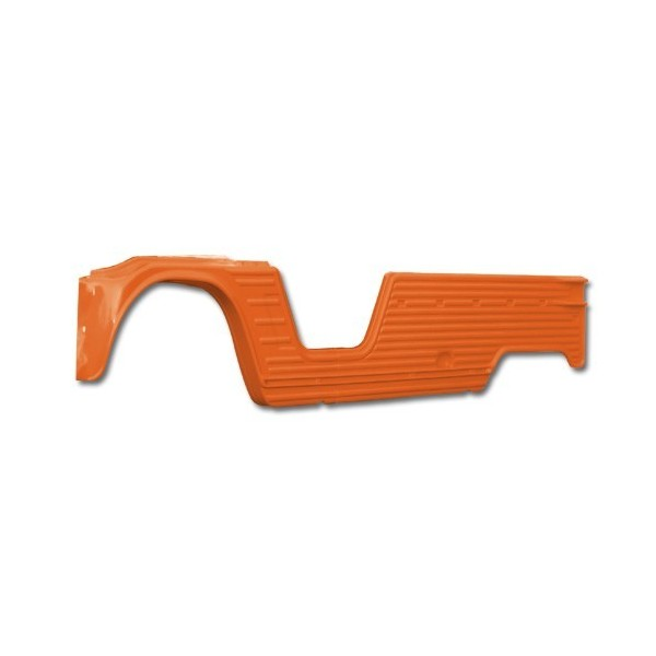 PANNEAU LATERAL GAUCHE COMPLET ABS ANTI UV ORANGE KIRCHIZ mehari mehari 4x4