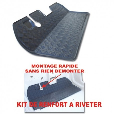 Kit plancher de renforcement AV - ABS mehari mehari 4x4