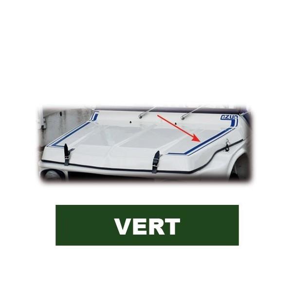 Autocollant AV + AR Vert mehari mehari 4x4