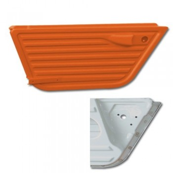 PORTE GAUCHEZ ANCIEN MODELE 3 TROUS ORANGE KIRCHIZ mehari mehari 4x4