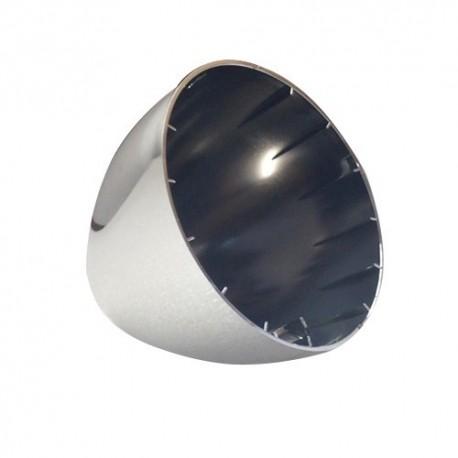 CUVELAGE PHARE 2CV CHROME NEUF + doigt + boulon fixation