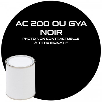 PEINTURE AC 200 NOIR GYA OU EXY NOIR