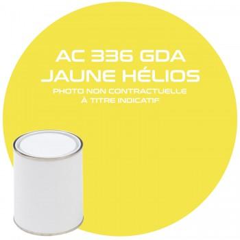 PEINTURE AC 336 OU GDA JAUNE HELIOS ANNEE 83  1KG