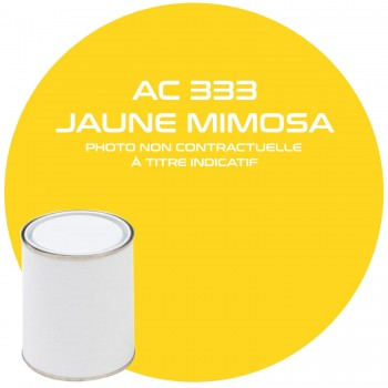 PEINTURE AC 333 JAUNE MIMOSAS ANNEE 79.80  1KG