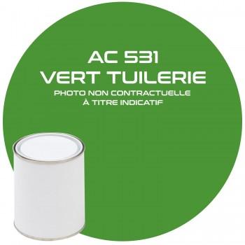 PEINTURE AC 531 VERT TUILERIE ANNEE 75  1KG