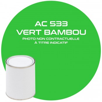 PEINTURE AC 533 VERT BAMBOU ANNEE 76.77.78.79  1KG