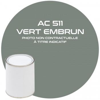 PEINTURE AC 511 VERT EMBRUN ANNEE 61.62.63.64  1KG