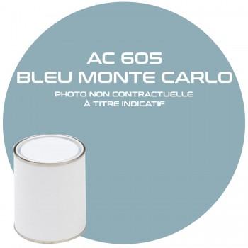 PEINTURE AC 605 BLEU MONTE CARLO ANNEE 63.64  1KG