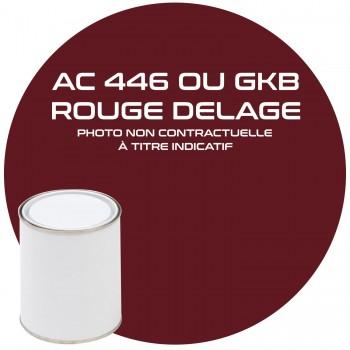 PEINTURE AC 446  GKB / EKA ROUGE DELAGE ANNEE 81.82.83.84.85.86.87.88.89.90