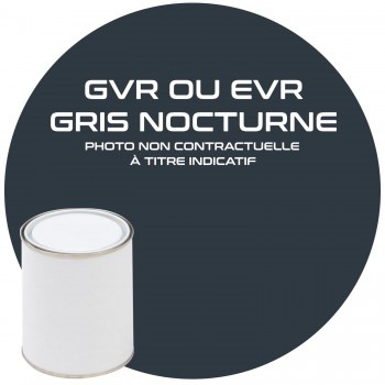 PEINTURE GVR OU EVR GRIS NOCTURNE ANNEE 84.85.86.87.88.89.90  1KG