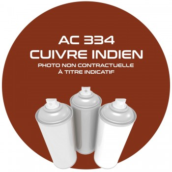AEROSOL CUIVRE INDIEN AC 334 ANNEE 81.82 400 ML