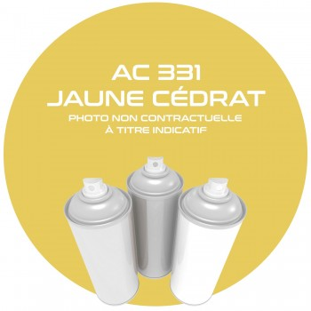 AEROSOL JAUNE CEDRA ZC 331 ANNEE 76.77.78 400 ML
