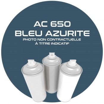 AEROSOL BLEU AZURITE.15370. AC 650 ANNEE 80.81 . 400 ML