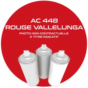 AEROSOL ROUGE VALLELUNGA  AC 448 / GKB / EKB AN 83.84.85.86.87.88.89.90.400  ML