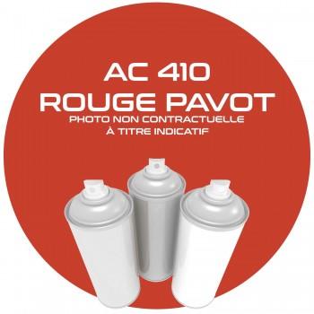 AEROSOL ROUGE PAVOT AC 410 ANNEE 62 400 ML.
