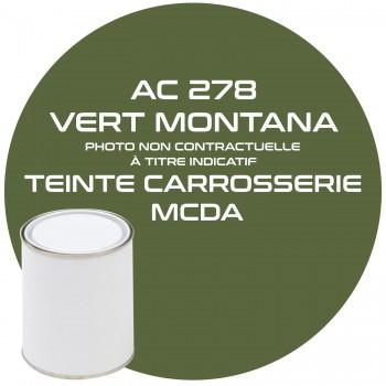 PEINTURE AC 278 VERT MONTANA CARROSSERIE MCDA 1KG