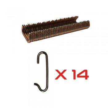 Kit Montage avec crochets et agrafes pour sièges méhari mehari mehari 4x4