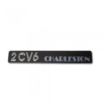 MONOGRAMME 2CV6 CHARLESTON 2cv 6