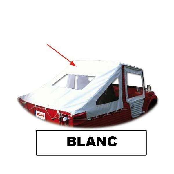 Bache Saharienne Blanche avec transaprents AR et Lateraux mehari mehari 4x4