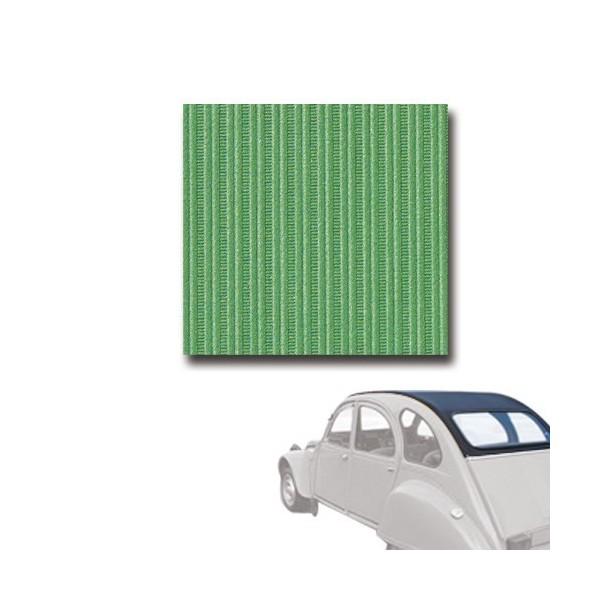 Capote neuve vert tuilerie, fermeture intérieure 2cv 2cv 6