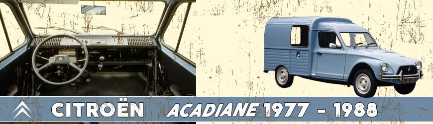 Pièces détachées Acadiane